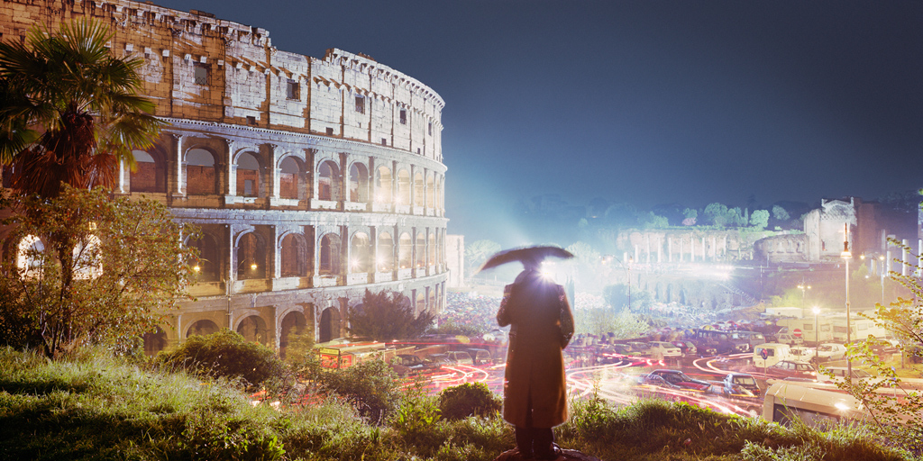 Roma 1995 © Olivo Barbieri