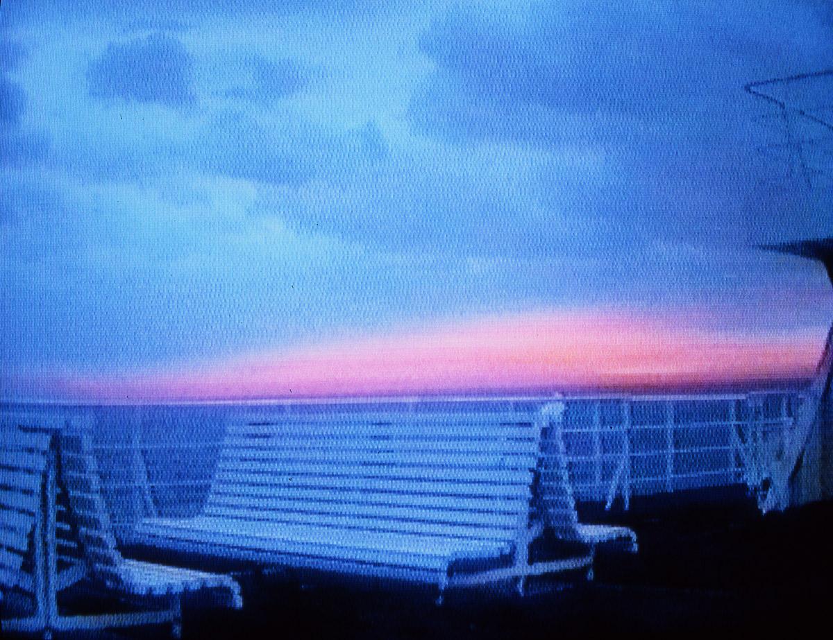 Île de Beauté, video still, 1996 © Ange Leccia & Dominique Gonzalez-Foerster - ADAGP
