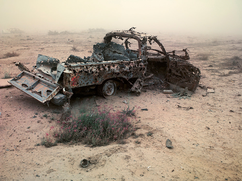 Hilux Samarra, 2009 © Richard Mosse. Courtesy of the artist and Jack Shainman Gallery, New York