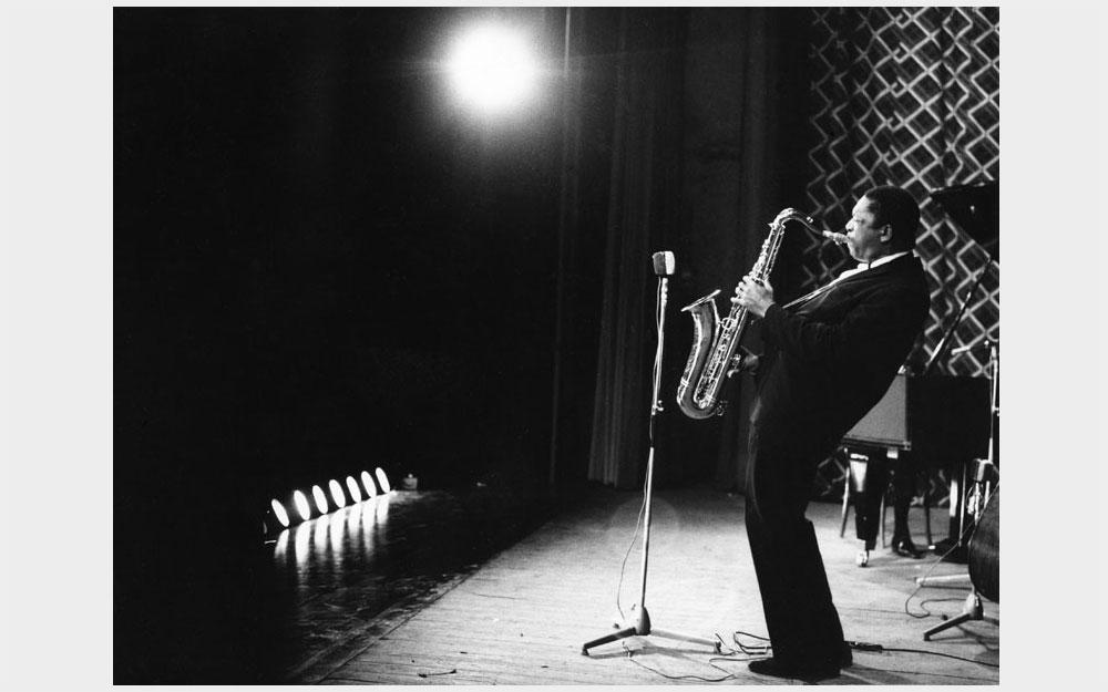 John Coltrane, Milano 1963 © Riccardo Schwamenthal / CTSimages - Phocus