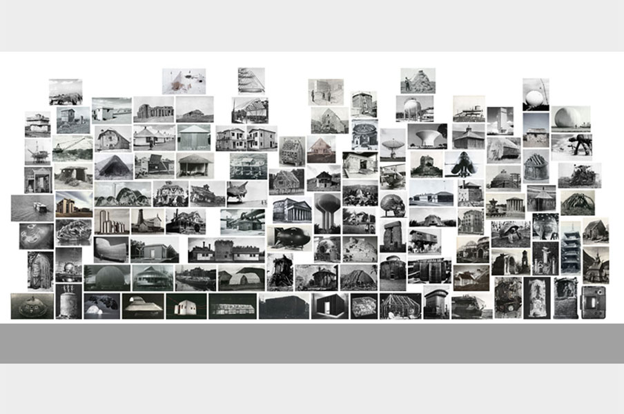 Shelter Series, wall version #1, 2012, Les Prairies, Biennal for Contemporary Art, Rennes © Batia Suter