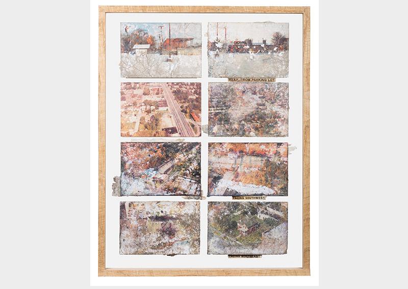 Arianna Arcara & Luca Santese, Landscapes series, Found Photos in Detroit  USA, Detroit, 1970 - 1990  © Arianna Arcara & Luca Santese Collection