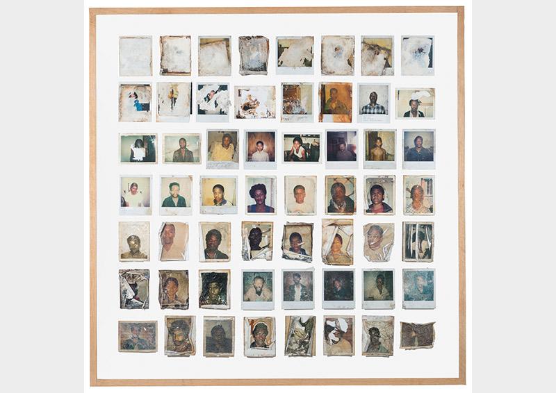 Arianna Arcara & Luca Santese, Polaroid series, Found Photos in DetroitUSA, Detroit, 1970 – 1990  © Arianna Arcara & Luca Santese Collection
