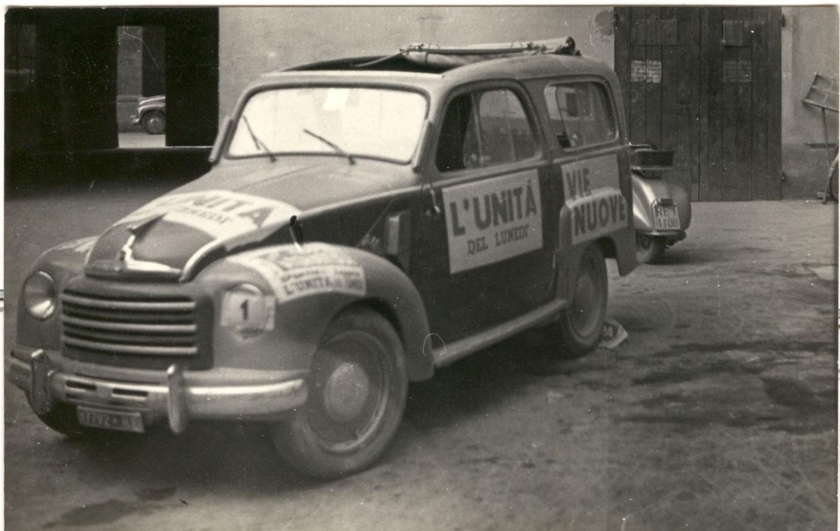 16 settembre 1951 - 3°congresso prov Amici dell' Unità. Dalla Fototeca della Biblioteca Panizzi