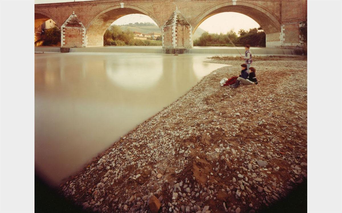 Guido Guidi, Vedute di paesaggio sulla via Emilia, 1984-1985