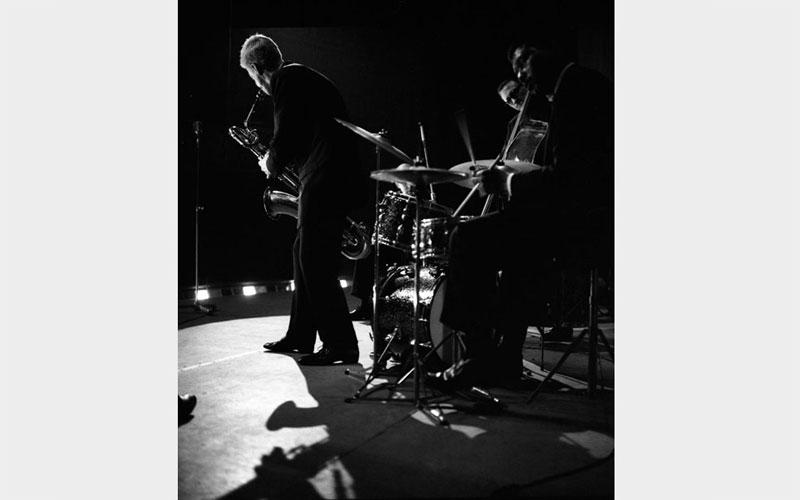 Gerry Mulligan, Milano 1959 © Riccardo Schwamenthal / CTSimages - Phocus