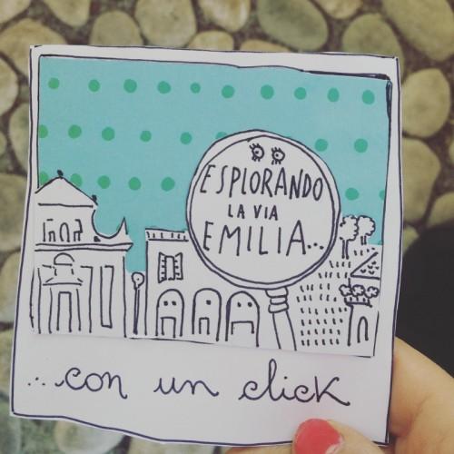 Esplorando la via Emiliacon un click
