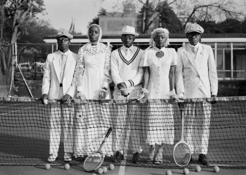 Andile Buka SARTIST SPORT, YEOVILLE TENNIS CLUB 2014 Courtesy the Artist