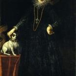 Ritratto di gentildonna con cane (Camilla Ruggeri Brami#)