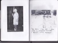 """""""Compleanno"""" è il diario immaginario di 5 personaggi che rappresentano le 5 personalità che vivono dentro di me: La Sposa, L'Amante, L'Uomo, La Donna Borghese, I Bambini. Compleanno è il giorno in cui si incontrano tutti © Marilisa Cosello"""