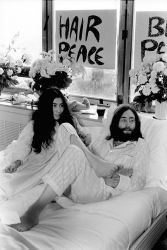 Ben-In, John Lennon e Yoko Ono  Montreal, 1969 Photo ©Bruno Vagnini